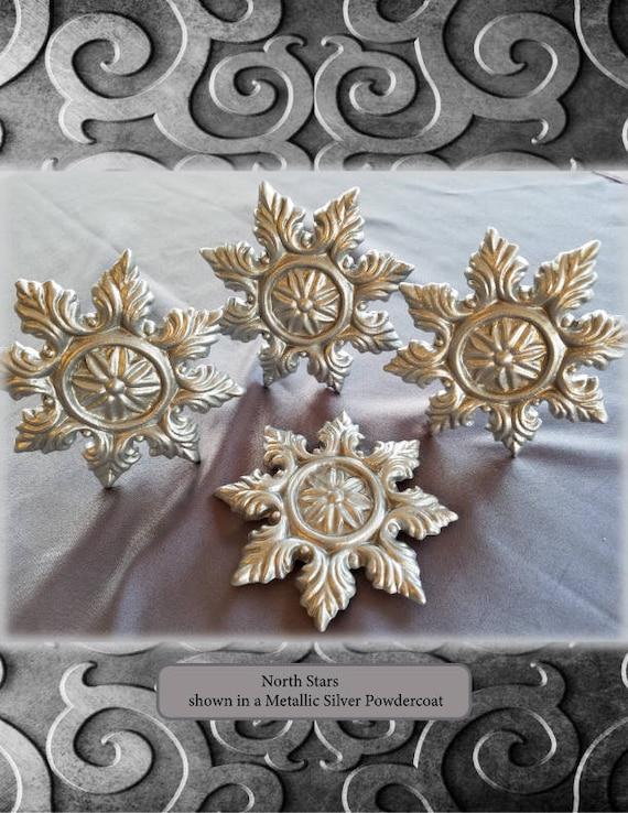 One North Star Curtain Medallion Single Item Etsy