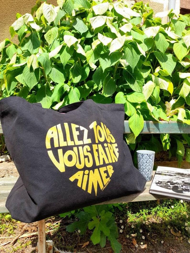 Maxi Tote bag Go all you love / Allez tous image 0