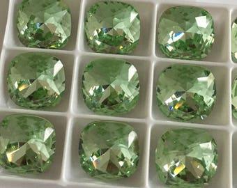 Set of 45 Swarovski cabochon crystals 4470 12mm