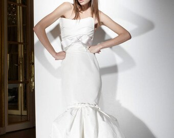 Haute Couture silk taffeta