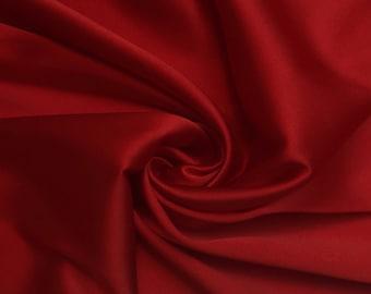 Haute Couture silk stretch satin