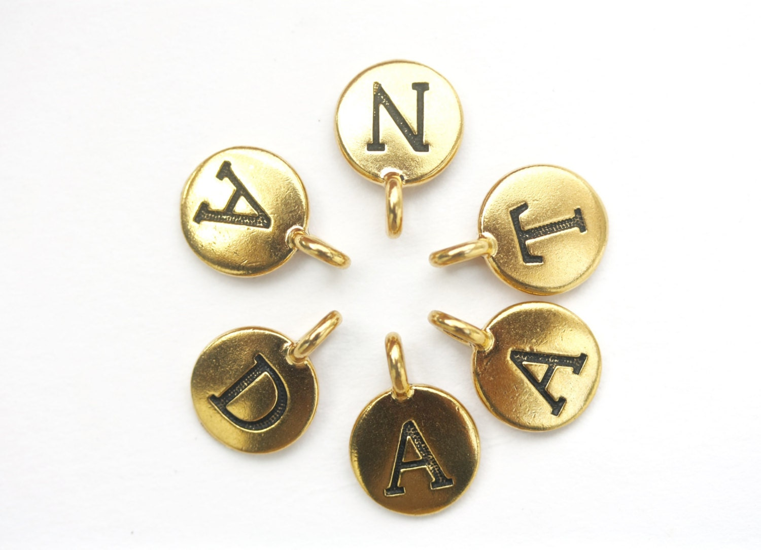 Letter beads letter Charms alphabet beads letter bead name  f4685fb3f542