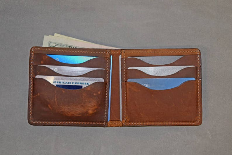 Copper Rough   Tough Leather Wallet SB Foot Pull-up Wallet  1fe6d86780bb4