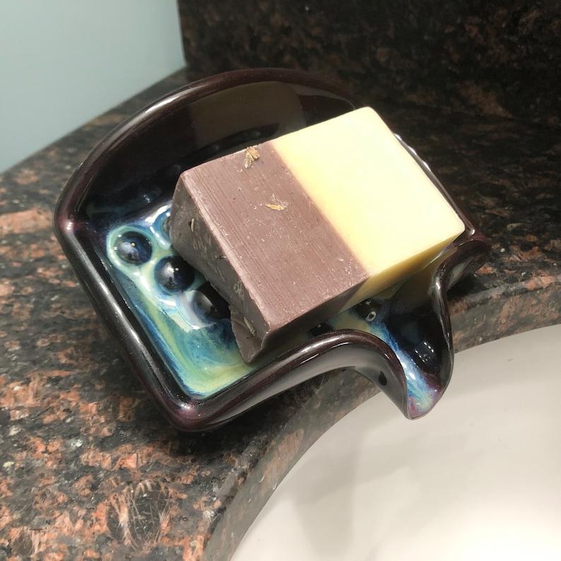 Mood Ring Self Draining Soap Dish