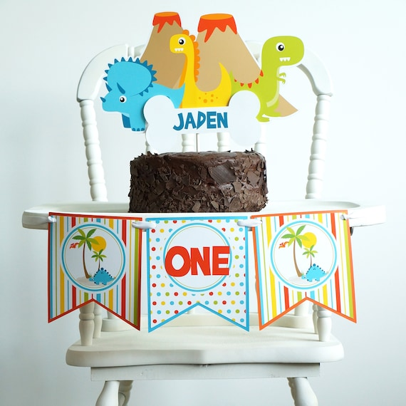 Dinosaur Cake Topper Birthday Dino