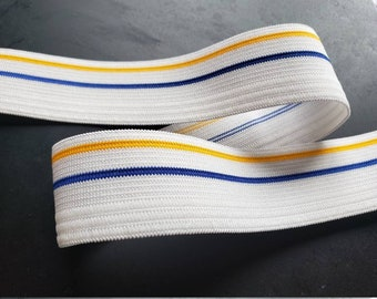 Knitted Elastic 5cm For Under Wear Skirt Pant Waist Bands Sleeves Soft 10 yard