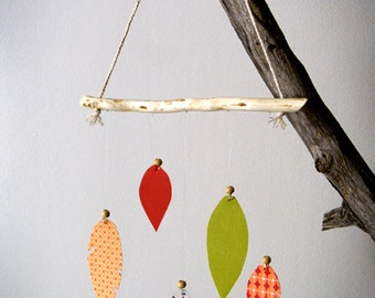 Feather suspension - Decoration baby room - Baby suspension - Baby mobile - Baby shower