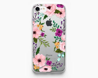 iPhone 7 Case Floral iPhone X Case Clear iPhone 6 Case Flowers iPhone 6s Rose Gold Case iPhone 8 Plus Case iPhone 7 Plus Case iPhone 8 Case