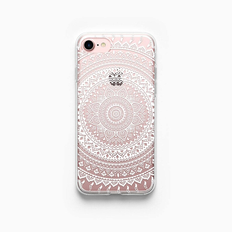 iphone 7 case clear white