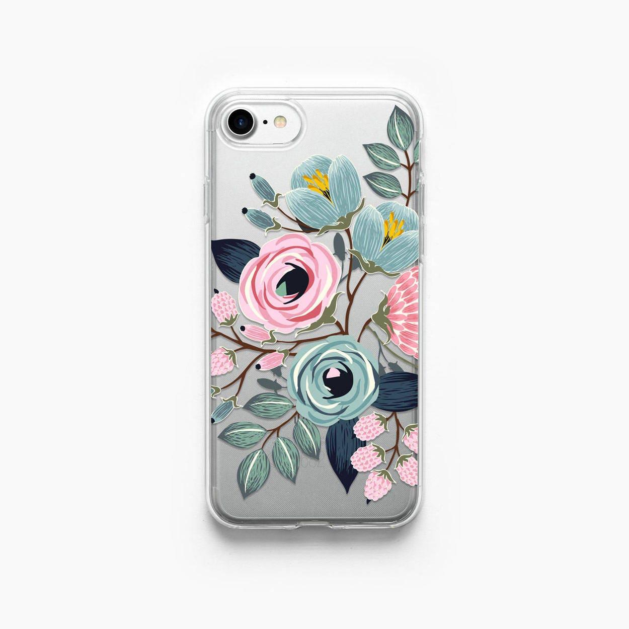 Iphone Case Floral Iphone 7 Case Iphone 7 Plus Case Iphone 6 Etsy