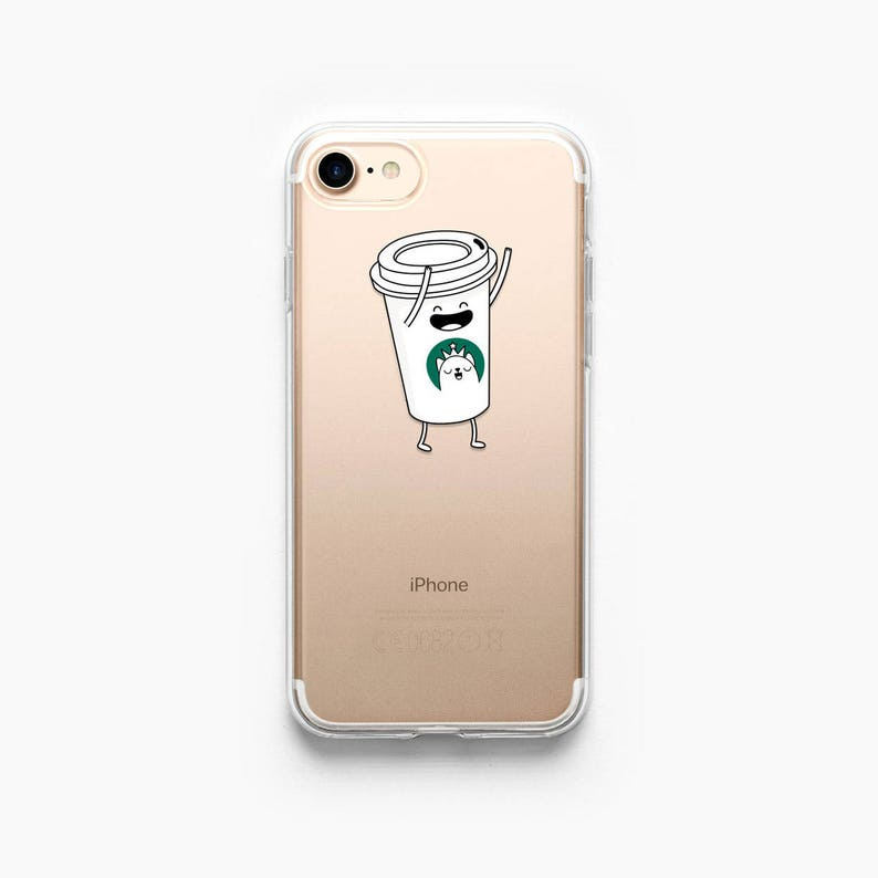 new concept 7b2dc 907cd iPhone 7 Case Coffee iPhone 8 Case Starbucks iPhone 7 Plus Case iPhone 6  Case Funny iPhone 6s Case Cup iPhone Clear Case iPhone 8 Case Cute