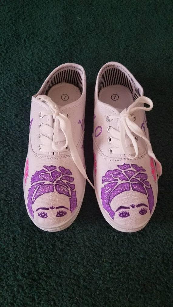 b6f533713995 Frida Kahlo converse Custom en 2018 Converse Frida