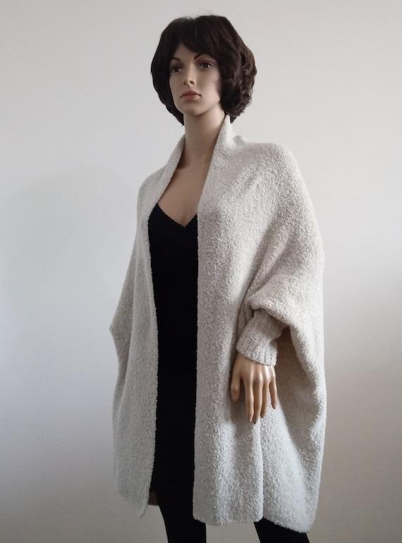 NEW Boho Womens Long Sleeve Long Maxi Open Cardigan Knit Sweater Size 8 10 12 14