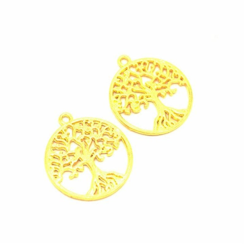 50pcs 28x25mm alloy tree of life diy pendant,tree of life pendantnecklacecharm,Jewelry finding for chain accessories