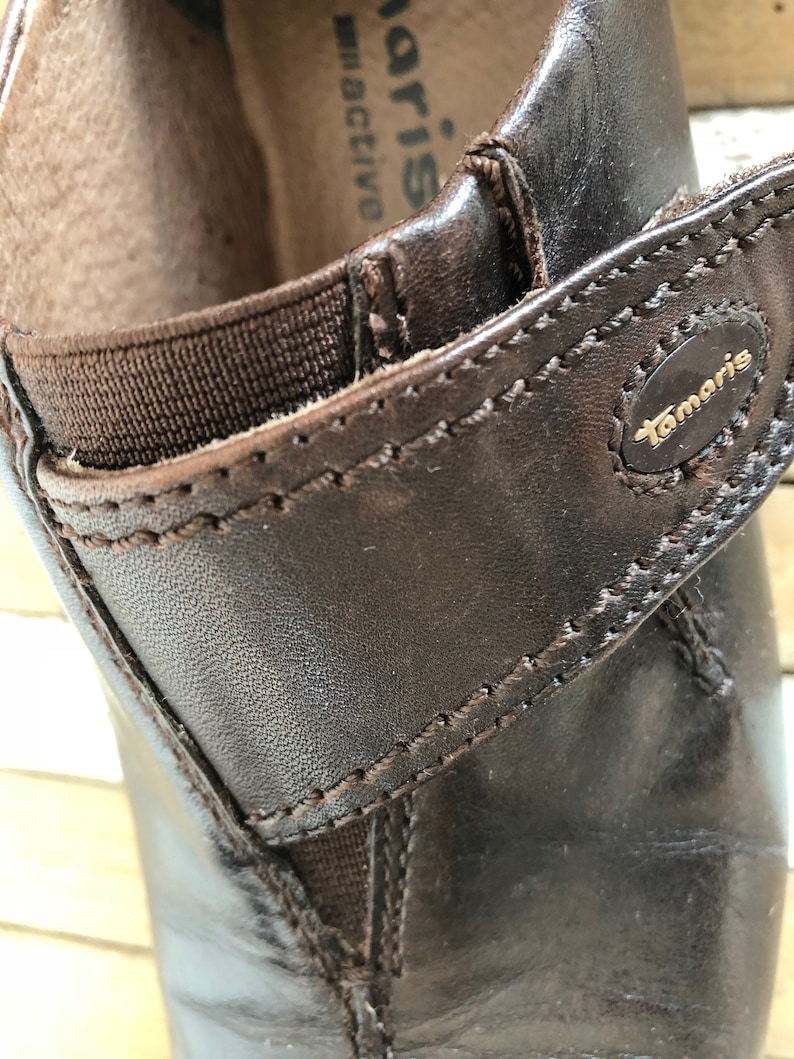 Women's ActiveVintage LeatherSize In Tamaris ShoesSneakersAubergine Brown Germany 38Made mNy8wOvn0P