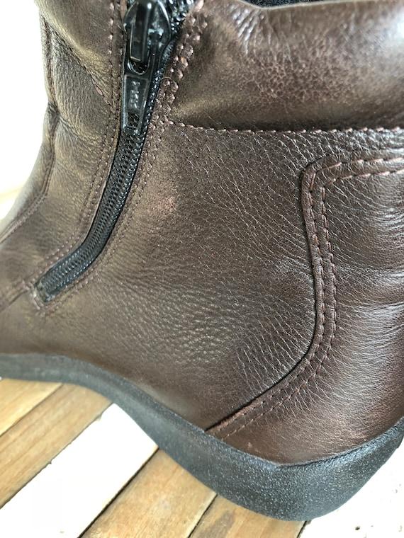 semelle durable souple scandinave UE femme bottines conception taille 38 sol du Vintage ECCO 7qWPwxwv