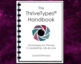 PDF on ThriveTypes Intuitive Eye Readings Archetypes - 24-page Handbook