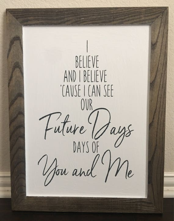 Pearl Jam Wooden Future Days Sign Etsy