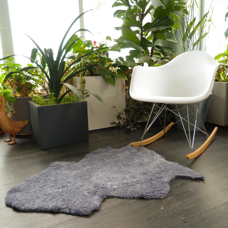 Limited Edition Short Fur Sheepskin Shearling Rug Or Chair