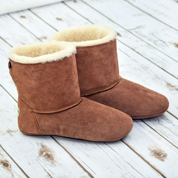 NEW STYLE Luxury Sheepskin Slipper Boot