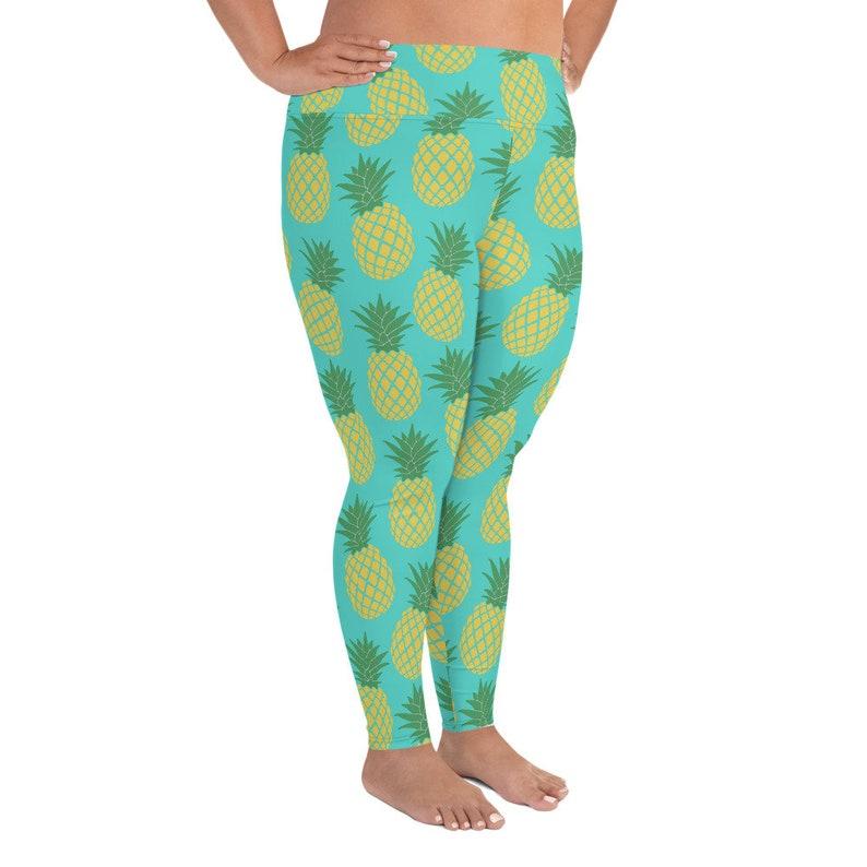 Pineapple Plus Size Leggings