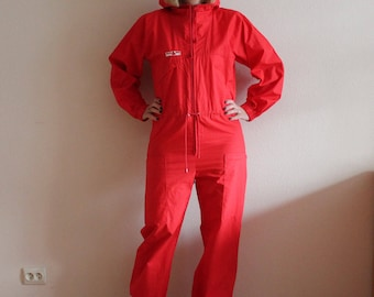 14e404359b Red Overall Sail Ski Sportful Thin Ski Suit Red Retro Cross Country Skiing  Overalls Hipster Jumpsuits Snow Gear Jumpsuit Unisex Sportswear
