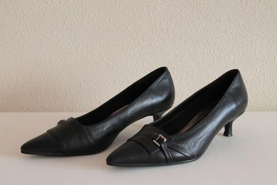 Chaussures pompes chaussures 37 femmes noires noir talons chaussures EUR femmes pointu rE6Yrwqx1
