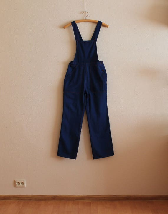 Work Overall Blue Overall Navy Jumpsuit Workwear B