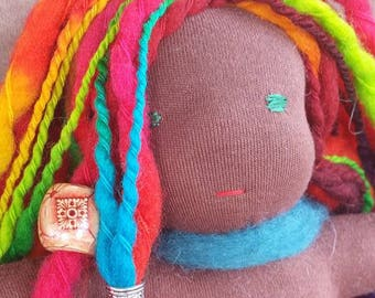Waldorf Steiner Inspired Doll Hand Made by Me