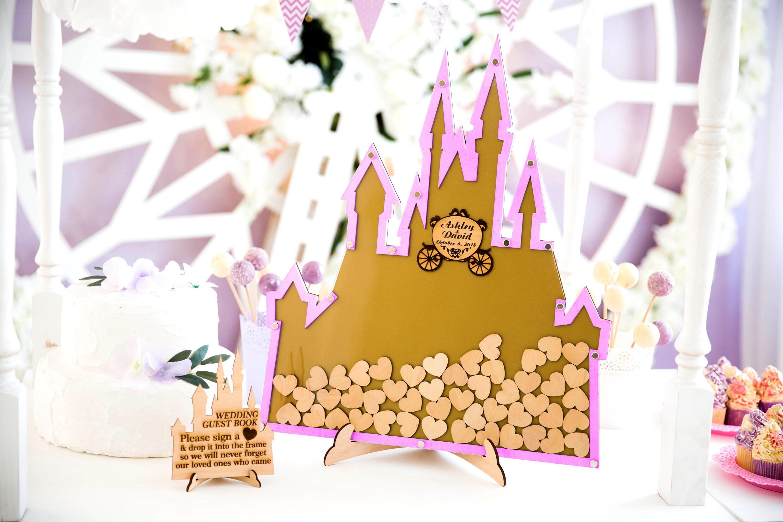 Personalisierte Hochzeit Disney Hochzeit Gästebuch Alternative | Etsy