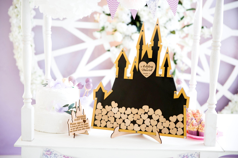Disney-Schloss Hochzeit Gästebuch Hochzeit Disney Hochzeit | Etsy