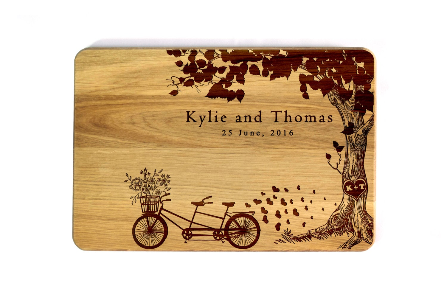 Personalized Wedding Gift Personalized Cutting Board Wedding Etsy