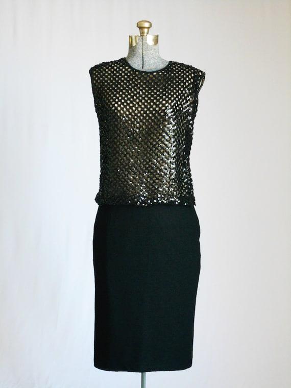 Vintage Suit 1960s Skirt Suit 60s Suit Boucle and