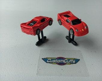 Ferrari F-50 - Vintage Micro Machine Car Cufflinks. Perfect fathers day / valentines / birthday / wedding or christmas gift