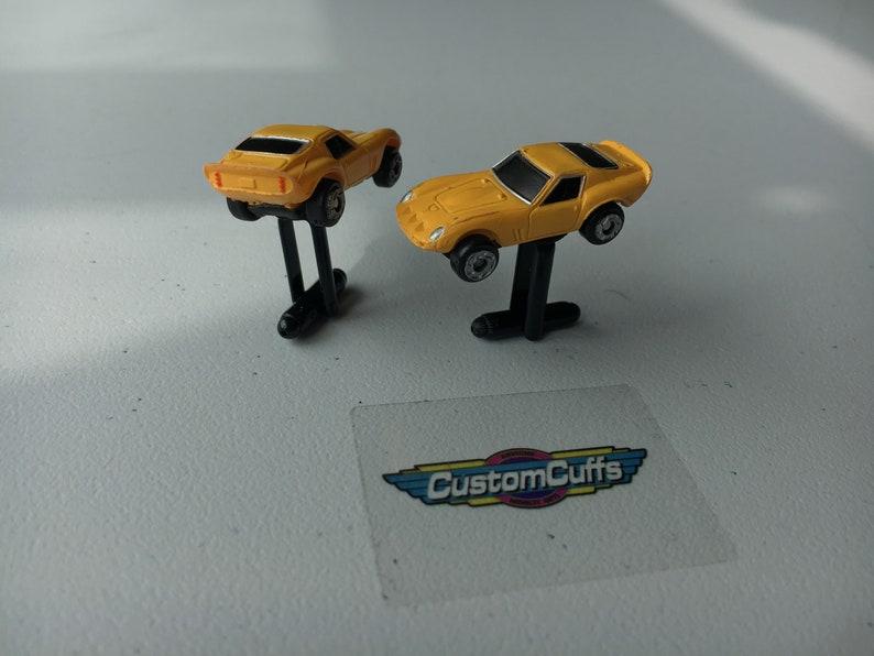Ferrari 250 GTO Vintage Micro Machine Car Cufflinks Perfect fathers day  valentines  birthday  wedding or christmas gift