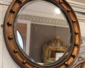 Ronde Houten Spiegel : Ronde spiegel hout excellent byboo ronde spiegel hout cm toilet