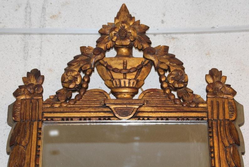 Vintage Spiegel Goud : Spiegel vintage spiegel franse stijl franse vintage gold frame etsy