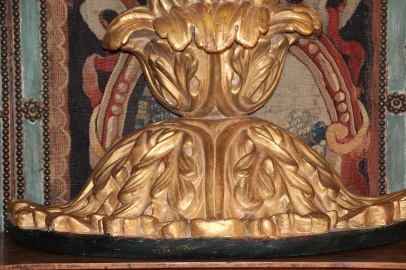 Mensola a muro oro antico scaffalature gilt intagliato legno etsy