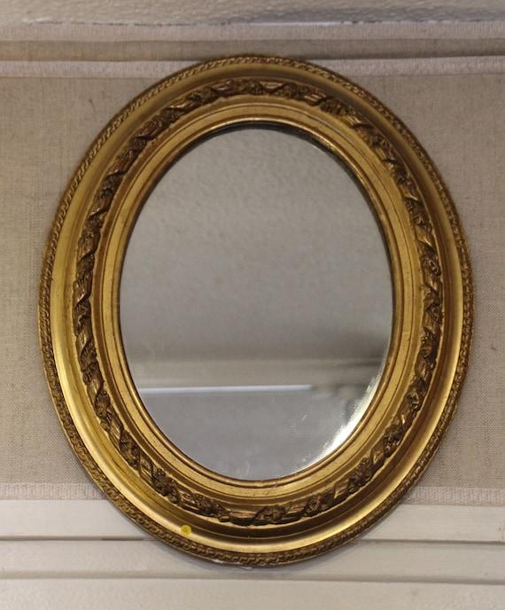 Gouden Spiegel Ovaal.Gouden Spiegel Ovale Spiegel Decor Gilt Frame Spiegel Goud Frame Spiegel Antieke Spiegel Franse Spiegel Gave Vintage Spiegel Sierlijke Spiegel Wand