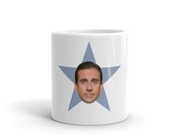 the office star mug. The Office Star Face Mug Custom 11 Oz / 15 - ADD YOUR FACE! The Office Star Mug .