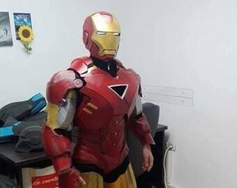 Armor is 4/6/7 from IRONMAN mark cosplay in eva foam