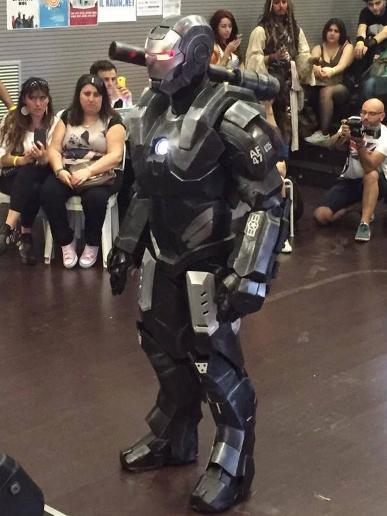 Taken from IRONMAN 2 reference WARMACHINE MARK 1 Cosplay