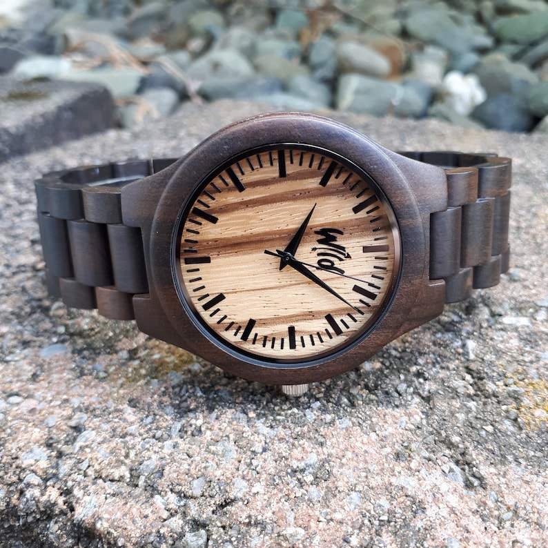 4144f6e230be FREE Engraving Wood Watch personalized watch engraved