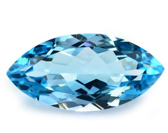 VVS Clarity Eye Clean Cluster Topaz Loose Topaz Code#A490 Top Quality Natural Swiss Blue Topaz 20.00 Carat Oval Shape Topaz Flawless