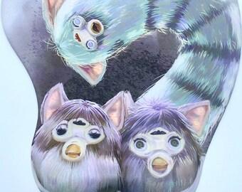 Furby Nest mousepad