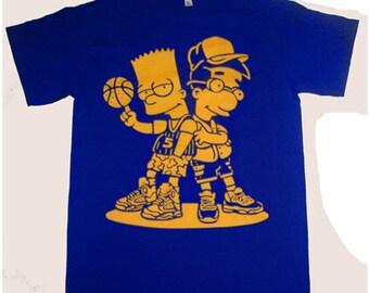 83bfec74885 So Icey Boyz shirt to match air Jordan 5 Laney Royal Blue Yellow v