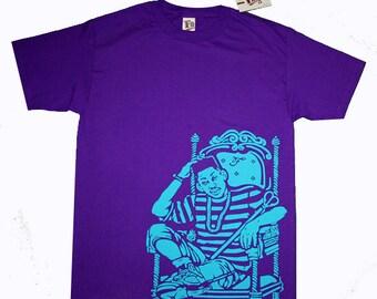 5f91480ce75191 Fresh Prince of Bel Air grape jordan 5 shirt