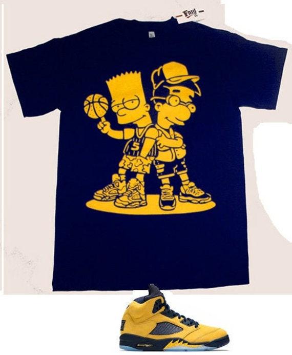 Navy Blue Yellow So Icey Boyz shirt to