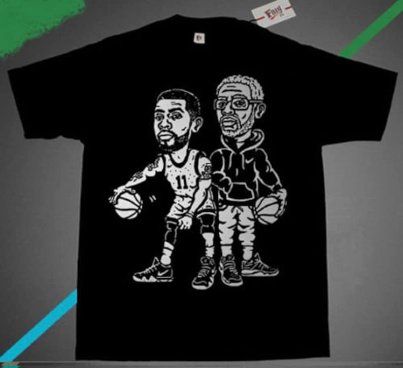 separation shoes 62560 d951d New Kyrie Irving Uncle Drew basketball shirt 5 taco cereal
