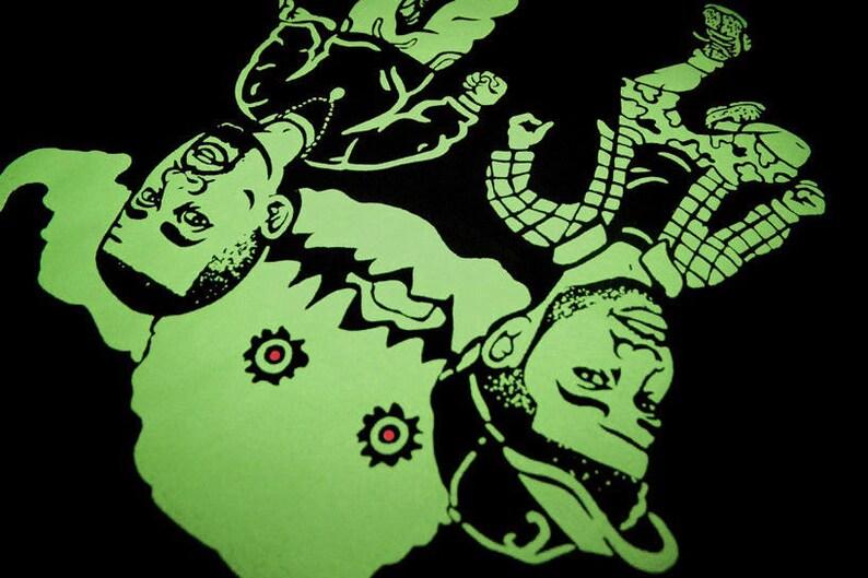 51dc40fc44fbf Neon Cartoon Kids See Ghosts shirt Yeezy Boost 350 V2 Semi Frozen Yellow